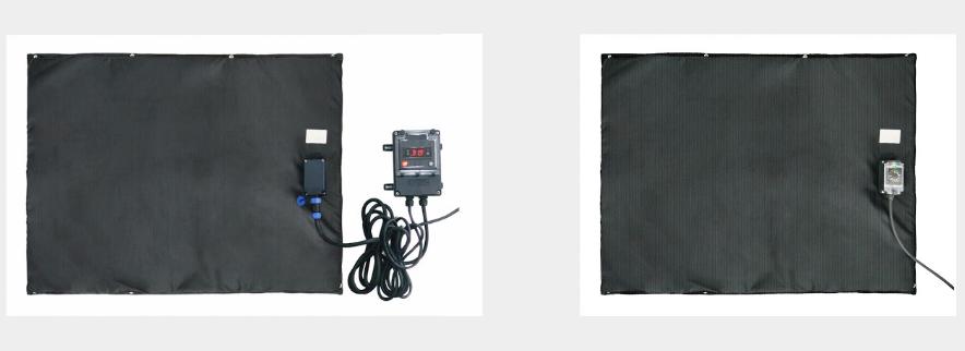 Matelas chauffant à thermostat électronique plate